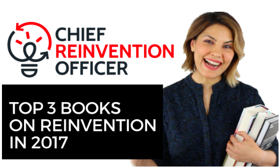 Top 3 books on reinvention in 2017