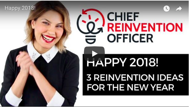 Happy 2018 - 3 reinvention ideas